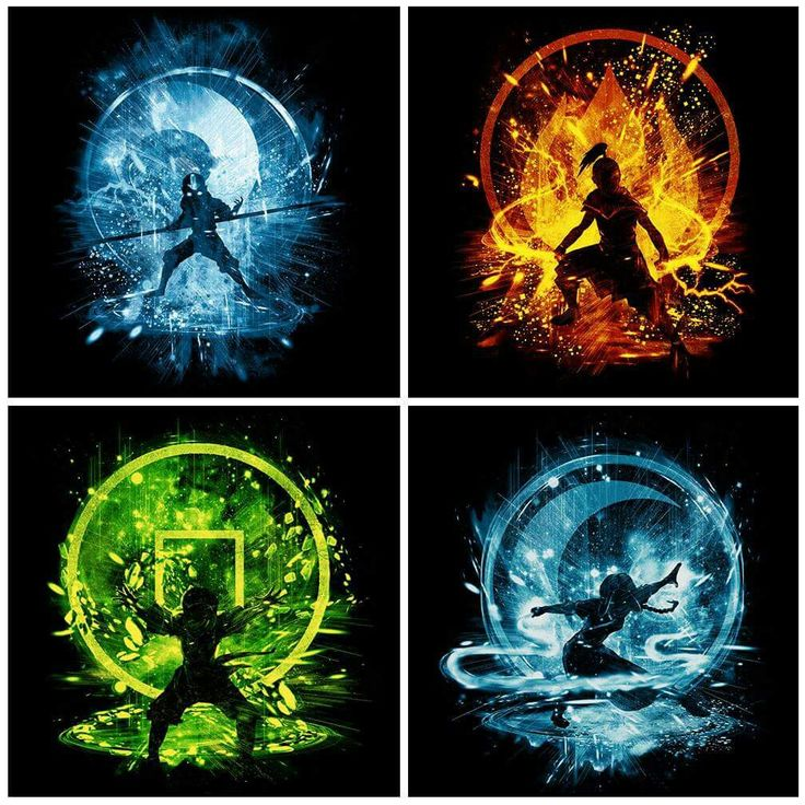 Avatar The Last Airbender. The elements