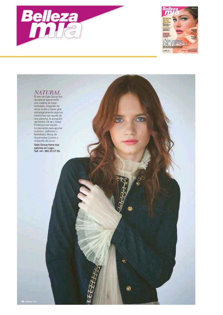 Arquímedes Llorens en la revista BELLEZA MIA, ¡ya está en el  quiosco! #moda #fashion #madrid