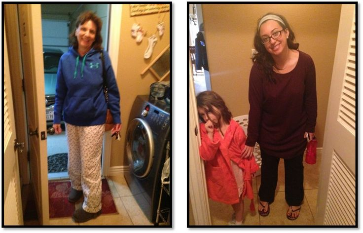 Heading out for our rendition of the Shull family Jammy-Cocoa Christmas.