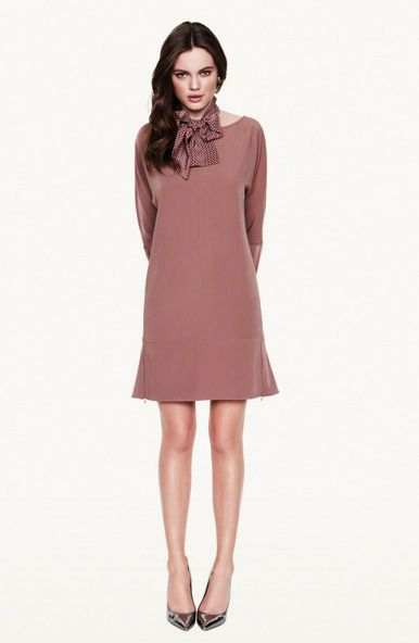 We love mini dresses, especially when in unexpected colors such as this decadent pink. www.gotha.it