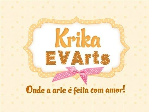 Krika.com - Aprenda a fazer uma linda capa de caderno