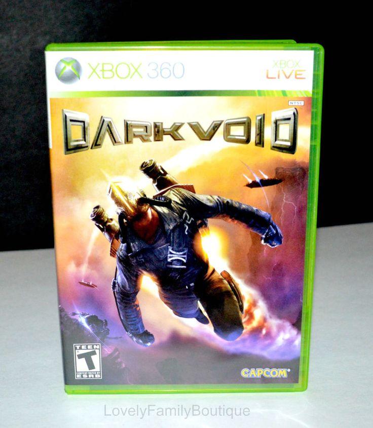 Dark Void (Microsoft Xbox 360, 2010) Xbox 360 LIVE Game - Dark Void Video Game