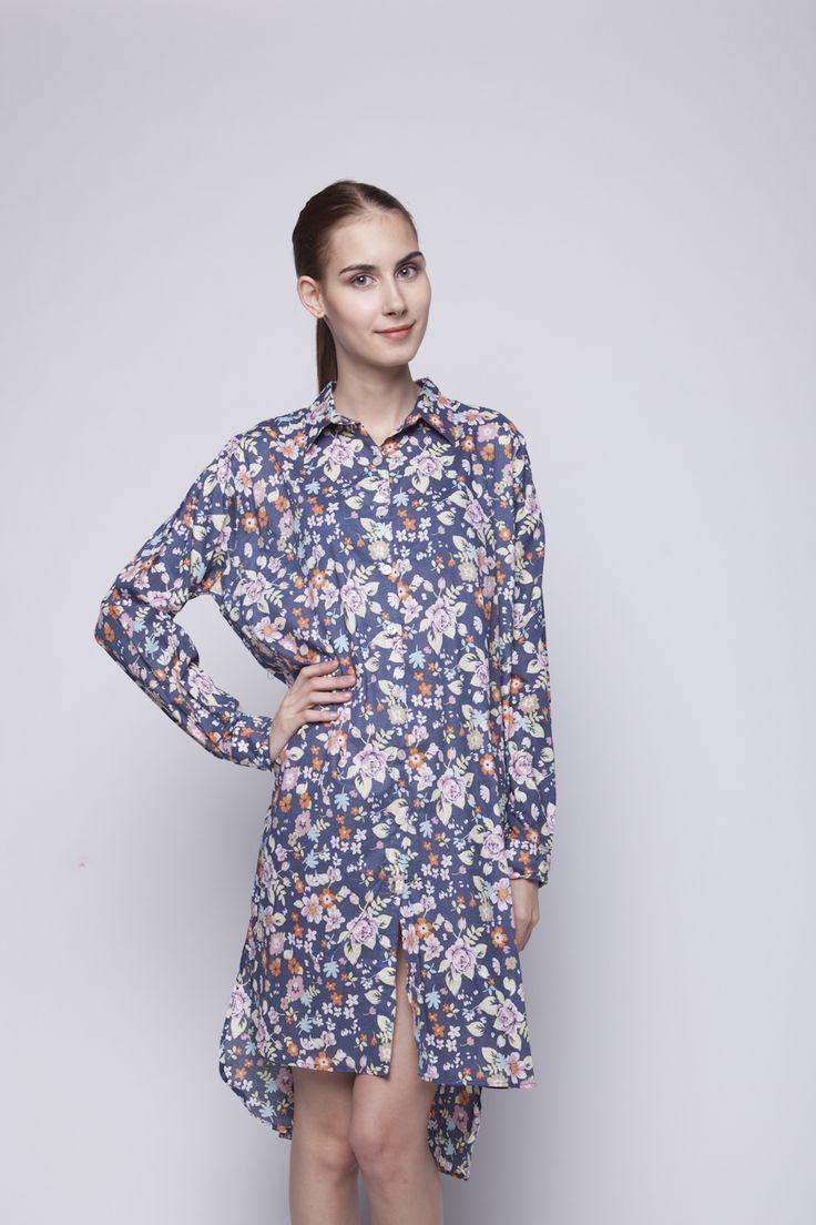Flo Shirt Dress   Rp 221.250