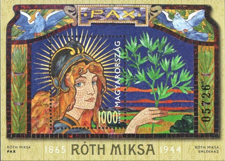 #4354 Hungary - Miksa Roth S/S (MNH)