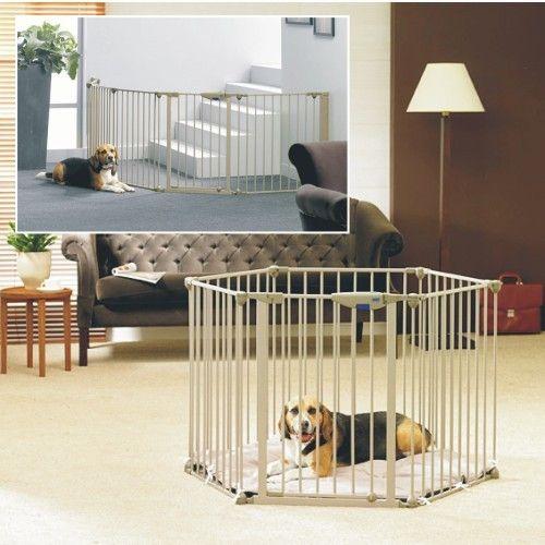 Parque y barrera Luxe con colchón para perros - Paticas.es 223 EUR