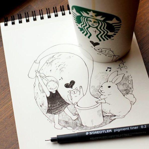 Tomoko Shintani X Starbucks