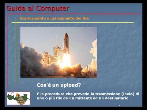 Lezione 80 (VIDEO) - SCARICAMENTO (DOWNLOAD) E CARICAMENTO (UPLOAD) DEI FILE. Come eseguire il download e l'upload di file, immagini, video, audio, documenti, ecc.