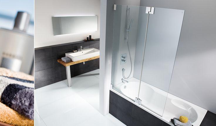 HSK Kienle 2 delige badwand