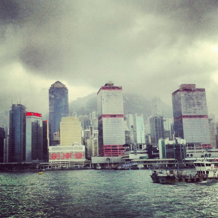 HK from the sea