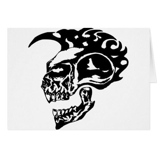 43 best Mohawk Skull Tattoo Designs images on Pinterest ...