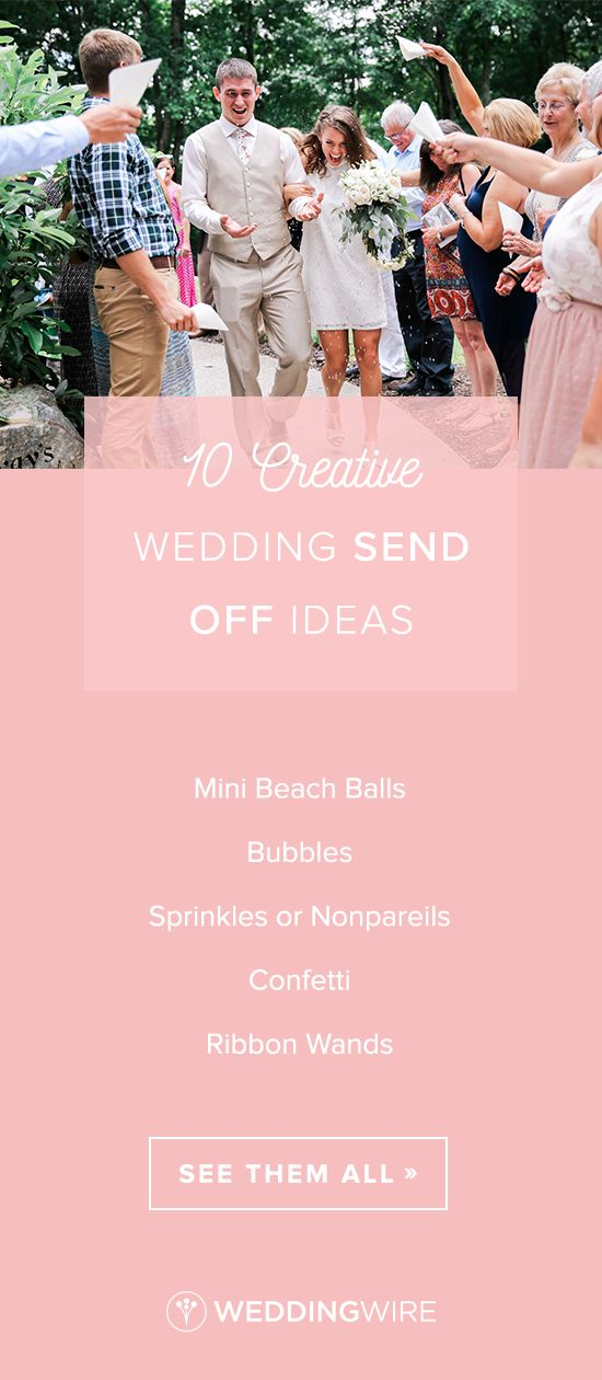 funny personal wedding card matter%0A    Creative Wedding SendOff Ideas  Looking for a fun sendoff idea