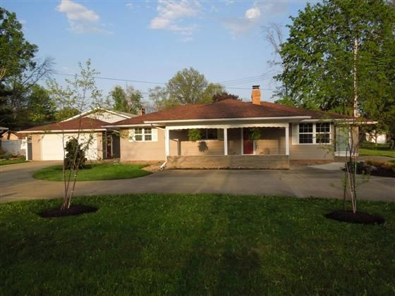 Updated Vinyl Ranch on an extra large home site within walking distance to Chippewa Lake  Get away from the hassle everyday with the Medina Co MetroParks just out your door  Home offers New Roof with Dimensional Shingles in 2010 an updated KT with durable and beautiful laminate flooring Flat Top Stove Space Saver Microwave Dishwasher  and  Side by Side Refrigerator  LR is accented by a Brick Wood Burning Fireplace and is open to the Formal or Casual Dining Room  Newer Carpet Vinyl Windows…