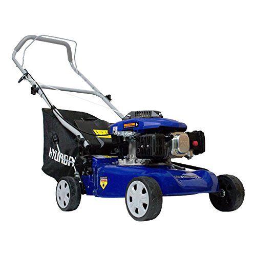 Hyundai HYM41P 99 cc, 410 mm Petrol Push Rotary Lawn Mower Soft Grip, Six Cutting Heights