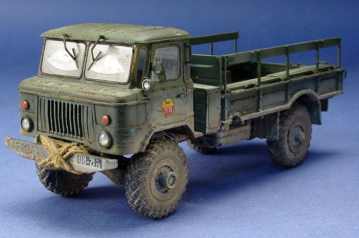 gaz 66 russian truck 1 35 scale model awesome scale. Black Bedroom Furniture Sets. Home Design Ideas
