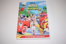 Mickey Mouse Clubhouse Road Rally DVD Playhouse Disney Junior Cartoons