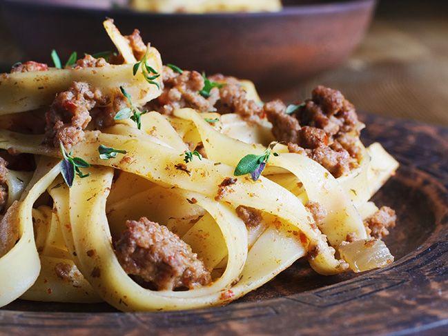 Pasta selber machen - der Grundteig für frische Nudeln