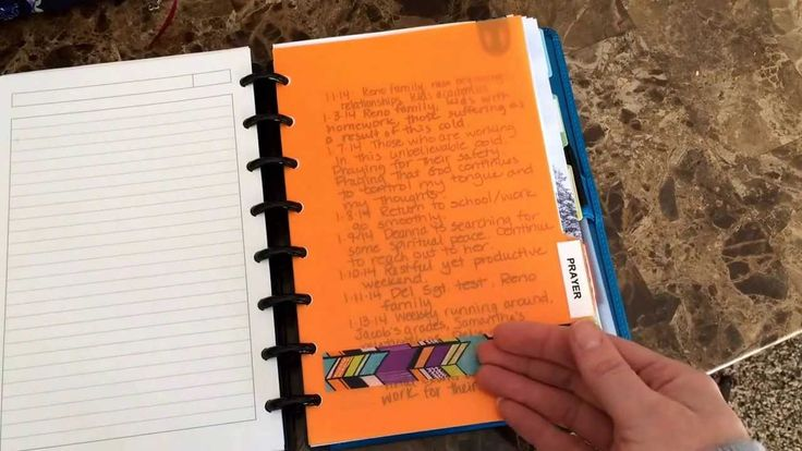 """My Bible Study Planner set up"" seems to be very useful! I might try it"