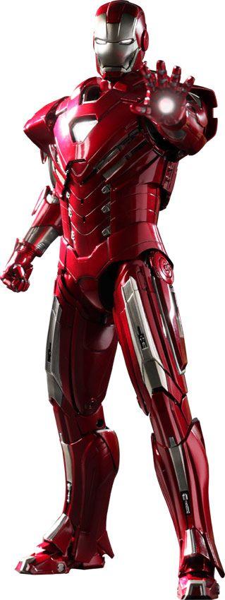 Iron Man Silver Centurion Mark 33 Figure