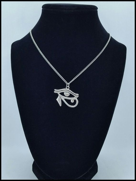 EYE OF HORUS necklace by BLACKANDBLUSH  blackandblush.etsy.com facebook.com/blackandblushxo  Find the perfect gift for the perfect occasion, for the perfect person! Birthdays, Christmas, Bridal, Anniversary, Valentine's Day and more!