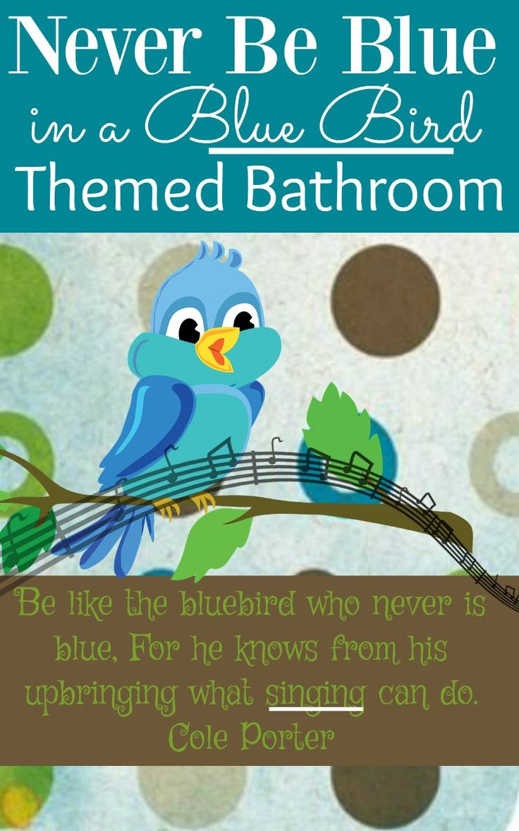 329 best home decor and more images on pinterest for Bird themed bathroom accessories