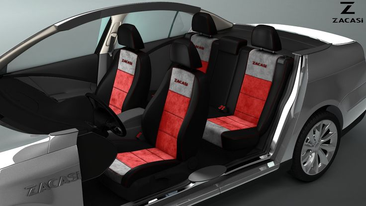 Now you are the designer! #zacasi # carinterior #blackred #leatherimitation #seatstyler #seatcover #configurator #design #designer #interior #carinterior #audi #bmw #ford #mercedes