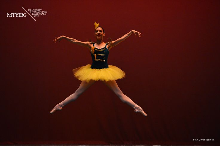Katia Carranza. Stars and Stripes. Ballet de Monterrey.