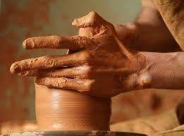Like clay in the potter's hands