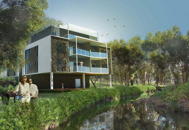 Archiplan // Dudley St Midland // Apartments // Concept Render