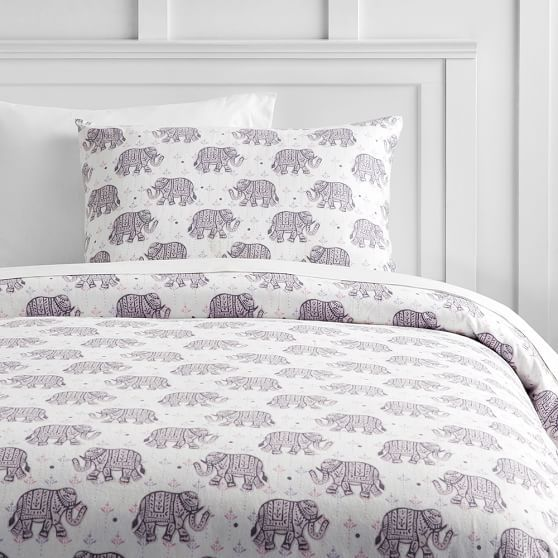 Winter Elephant Flannel Duvet Cover Sham Emma S Ideas