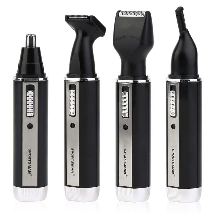4 In 1 Personal Waterproof Rechargeable Electric Male Eyebrow Ear Nose Trimmer Hair Clipper Shaver Beard Trimmer