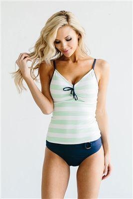 6fe6322d14d29 50+ Best Modest Swimwear Tankini | My Style | Swimsuits, Navy ...