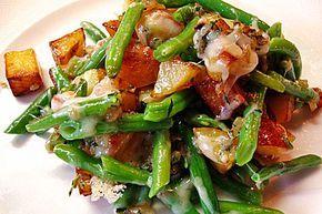 Würzige Kartoffel-grüne Bohnen Pfanne, ein raffiniertes Rezept aus der Kategorie Braten. Bewertungen: 68. Durchschnitt: Ø 4,2.