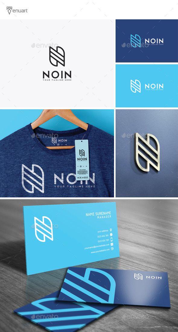 Noin Letter N - Logo Design Template Vector #logotype Download it here: http://graphicriver.net/item/noin-letter-n-logo/11941716?s_rank=1188?ref=nexion