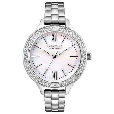 Caravelle New York - Ladies Stainless Steel Bracelet Watch - 43L165 - RRP: £85.00 - Online Price: 72.00
