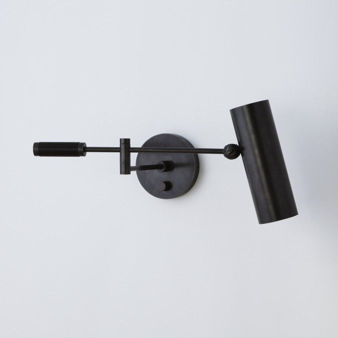 all about cylinder swing arm sconce by apparatus on architonic find pictures detailed information about retailers contact ways request options for