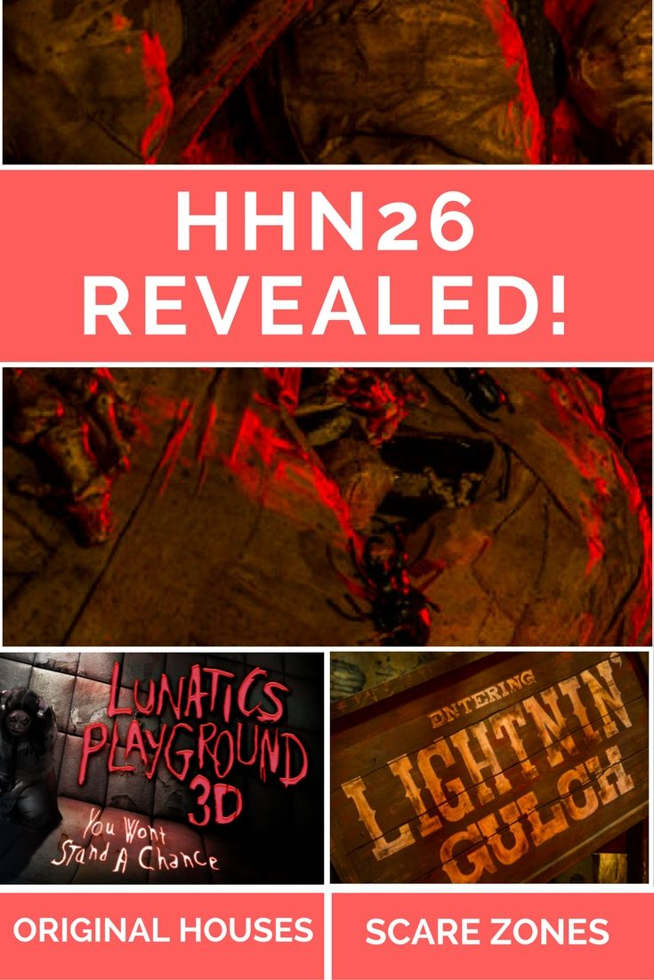 universal orlando halloween horror nights 26 original houses and scare zones