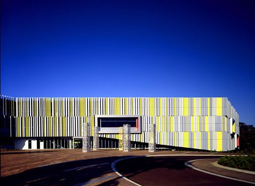 Edith Cowan University Library and Resources Building in Joondalup, Australia - Kate Tilton