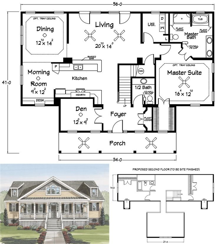 How Could You Say No To This Floor Plan?