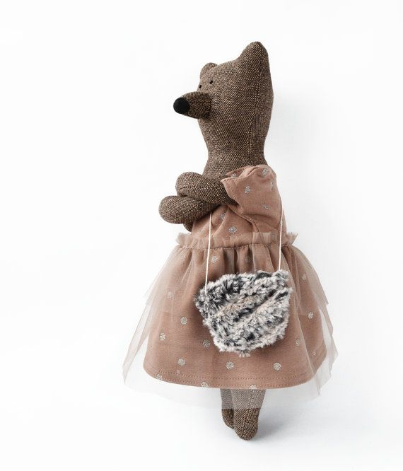 Sophie The Bear. Stuffed Bear. Child friendly by PhilomenaKloss