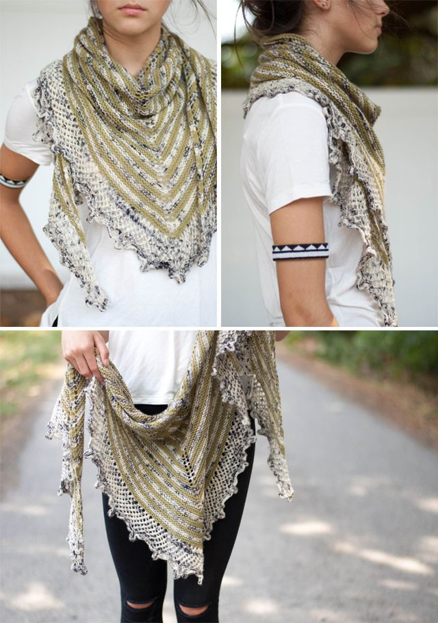Best 25+ Knitted shawls ideas on Pinterest