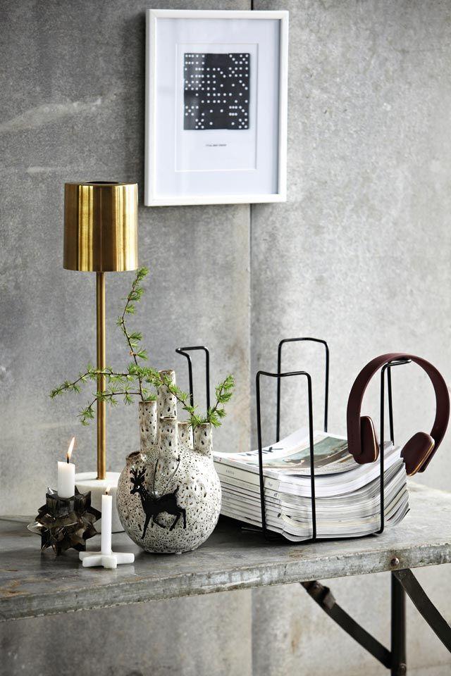 Cool vignette - House of C | Interior blog