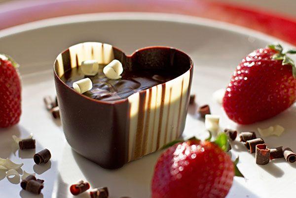 Chocolate heart........