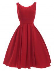 SHARE & Get it FREE   Women's Sweetheart Neck Pleated Red DressFor Fashion Lovers only:80,000+ Items • New Arrivals Daily • Affordable Casual to Chic for Every Occasion Join Sammydress: Get YOUR $50 NOW!