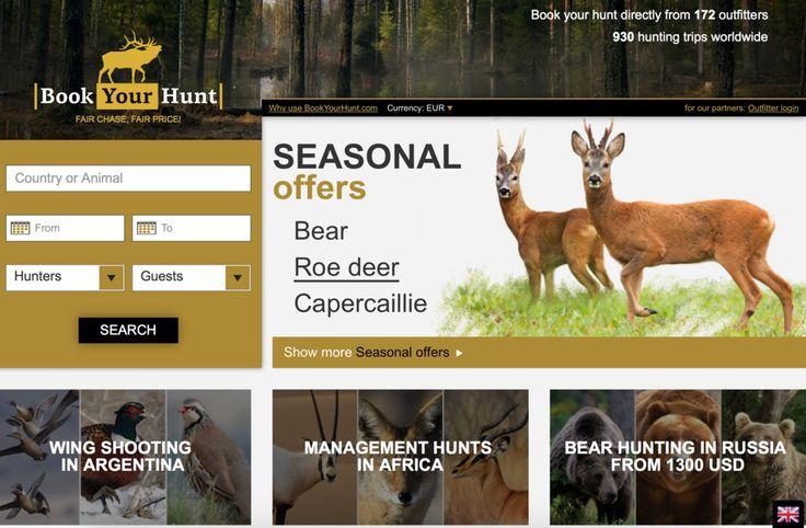 Neue Plattform für Jagd, Jägerinnen, Jäger und Jagdreisen getestet. Probiert es aus!