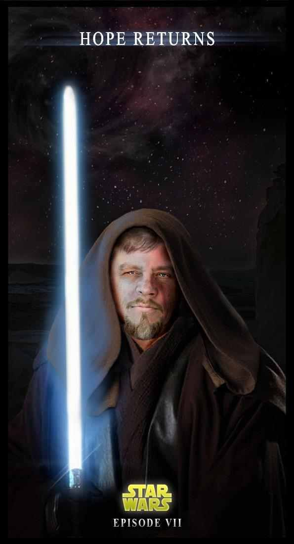 """Fan made Star Wars VII poster. I have """"new Hope"""" that ..."""