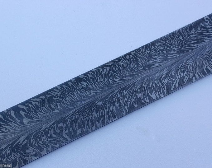 This Knife has a 4 inch Damascus steel blade knife made in the twisted pattern steel consisting of 1095 & 15N20 steel. The handle is approx. 4 inches long made from an African Impala Horn. True work of art and a wonder to hold. Leather sheath included. Designed by J Coy (central Texas)  Free shipping in the US and International buyers are responsible for all custom charges and shipping. 8.00 handling charge includes insurance.