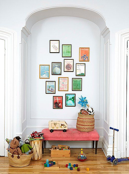 Our Editor Learns How To Create Perfect Art Displays From The Pros. Eclectic  Gallery WallToddler ...