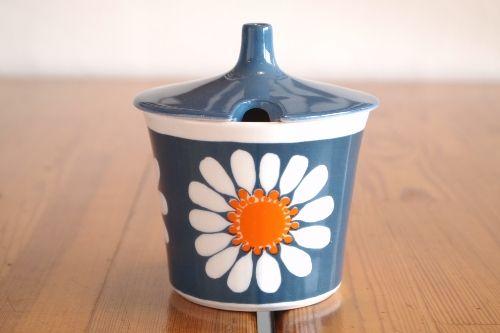 Figgjo daisy sugar pot フィッジオ フィッギオ デイジー シュガーポット/fig1-0021/北欧雑貨&北欧食器 カフェ KUPPI