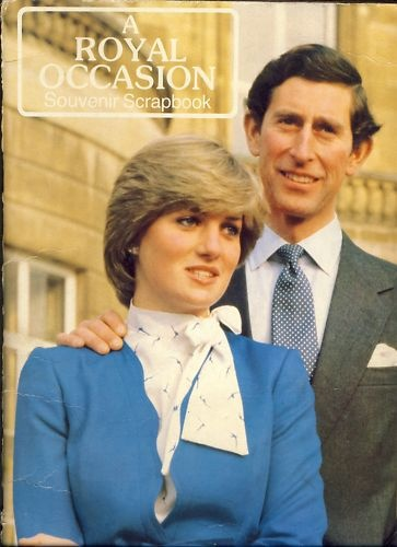 February 24, 1981: Prince Charles and his fiancé, Lady Diana give an interview after the announcement of their engagement.  Royal Engagement Scrapbook