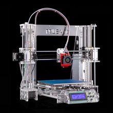 2016 Upgraded Quality Bowden design High Precision Reprap 3D printer Prusa i3 DIY kit P802Y auto leveling